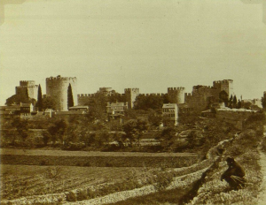 The Yedikule market gardens in the 1880s